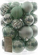 30 Weihnachstkugeln Christbaumkugeln Mix