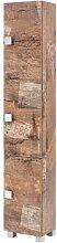 30 x 168 cm Wäscheschrank Edia