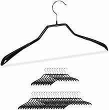 30 x Anzug Kleiderbügel im Set, breite Schulter,
