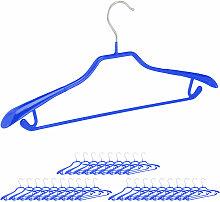 30 x Anzugbügel, breite Schulterauflage,