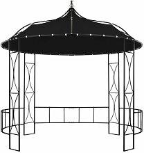 300 cm x 300 cm Pavillon Calpurnia aus Stahl