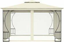 300 cm x 300 cm Pavillon Mtsahovi aus Stahl