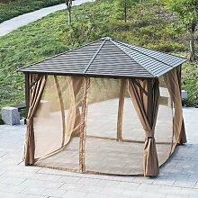 300 cm x 300 cm Pavillon Rockville aus Stahl