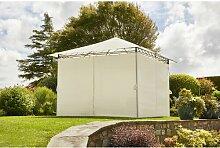 300 cm x 300 cm Pavillon Tuoi Garten Living