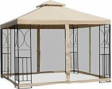 300 cm x 300 cm Pop-Up Pavillon Jolley aus Metall