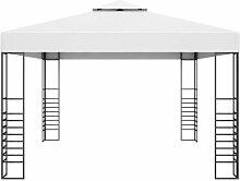 300 cm x 400 cm Pavillon Quinata aus Stahl