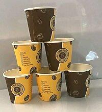 300 Coffee to go Becher Espresso 0,1l Coffee Espressobecher 100ml Kaffee