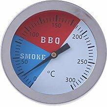 300 Grad Thermometer BBQ Rauch Grill Ofen