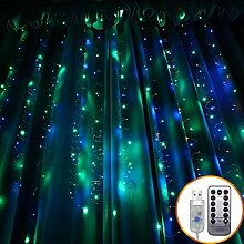 300 LED-Vorhang-Licht, 3m X 3m 8 Modi