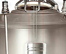 300 Micron Stainless Keg Dry Hopper Filter Hoping HomeBrew 70mm x 180mm Dry Hop 2.5 GALLON KEGS by UP100®