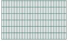 3000 cm x 123 cm Gartenzaun Patsy aus Metall