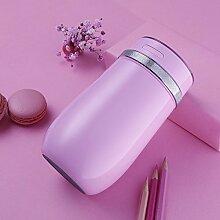 300ml Auto Luftbefeuchter Sprayer Mini Tragbare USB Büro ätherisches Öl Aromatherapie Desktop Luftbefeuchter,Pink-170*78MM