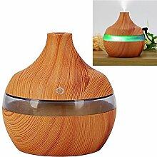 300ML USB Luftbefeuchter,Lifesport Cool Mist Befeuchter Aroma Diffuser mit 7-Farben Led Beleuchtung ideal für Haus in Tür Spas Turnhallen Yoga Studios Trockene Umgebung