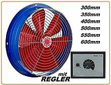 300mm Industrie TURBO Wandventilator Axial Radial