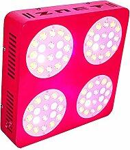 300W HPS Ersatz ZNET4 Professionelle Vollspektrum LED Grow Lampe,LED Pflanzenlampe (ZNET4-300W)