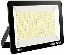 300W LED Strahler 3000K Außenleuchte Superhell
