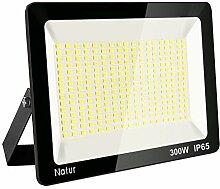 300W LED Strahler 6000K Außenleuchte Superhell