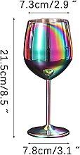 304 Edelstahl Becher Wein Glas Saft Getränke