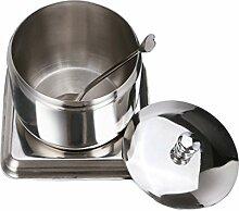 304 Edelstahl Gewürzglas Küche Gewürz Box Öl