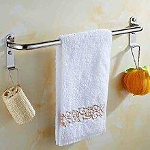 304 Edelstahl-Handtuch einzelne Handtuchhalter Handtuch hängen verlängert Bad Handtuch hängen Bad-Accessoires-Rack ( größe : 40 cm )