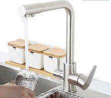 304 Edelstahl Küchenarmatur mit gefiltertem