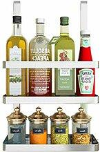 304 Edelstahl Küchenregal Küchenregal Wandregal