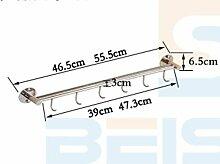 304 Edelstahl Wand Regal - Haken Küchenmesser, Rack-mounted, 61,5 cm