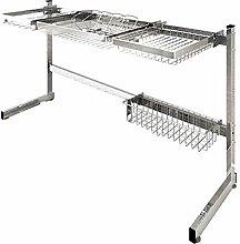 304 Edelstahl Waschbecken Rack Küche Drainage
