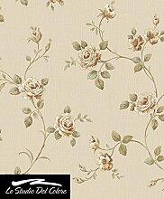 3043–Italienisch Classics 3beige floral