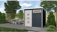 305 cm x 305 cm Gartenhaus Weka