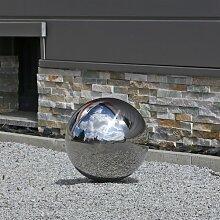 30cm Edelstahlkugel für Garten Deko Kugeln aus