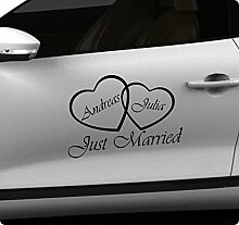 30cm Hochzeit Wedding Aufkleber Sticker