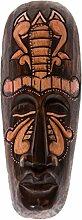 30cm Holz Maske Holzmaske Wandmaske Skulptur Dekoration Afrika HM3000025