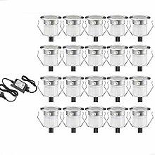 30er LED Einbaustrahler led Bodeneinbauleuchte