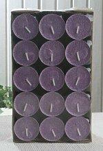 30er-Packung Bio-Teelichter/Stearin-Teelichter,