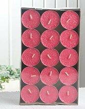 30er-Packung Bio-Teelichter / Stearin-Teelichter,