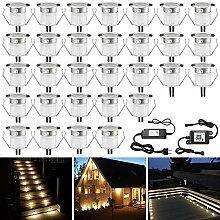 30er WIFI Dimmbar LED Bodeneinbauleuchten Ø30mm