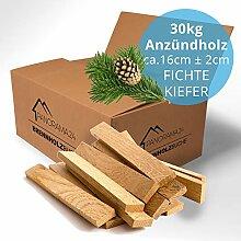 30kg Anzündholz Anfeuerholz Anmachholz Brennholz