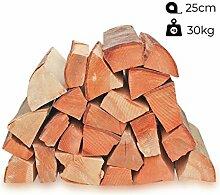 30kg Kaminholz Brennholz 25cm 100% reine Buche,