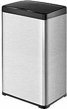 30L.40L.50L Mülleimer,Rostfreier Stahl USB