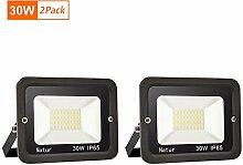 30W LED Strahler Außen Superhell LED Fluter 6000K