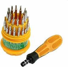 """10Stück 1//4 /""""Schaft 4/""""Lang H2.5 Magnet Hex Innensechskant Schraubendreher Bits"""