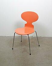 3101 Ant Stuhl in Pfirsichfarben von Arne Jacobsen