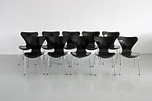 3107 Serie Butterfly Stuhl von Arne Jacobsen für
