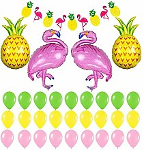 32 Stück Flamingo Und Ananas Geburtstagsdeko