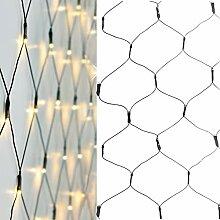320 LED Lichternetz Warmweiß Aussen und Innen