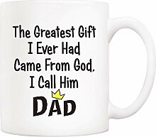 330ML Kaffee-Haferl für Papa, das größte