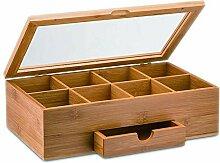332PageAnn teebox aus Bambus Holz 8 Fächern