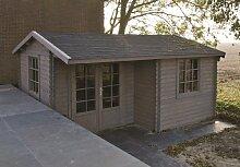 34 mm Gartenhaus Johan ca. 500x410 cm (unbehandelt)