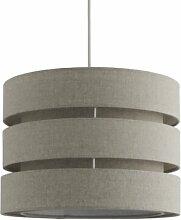 35 cm Lampenschirm aus Leinen